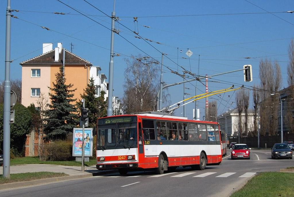 Fotogalerie » Škoda 14TrR 3247 | Brno | Židenice | Svatoplukova