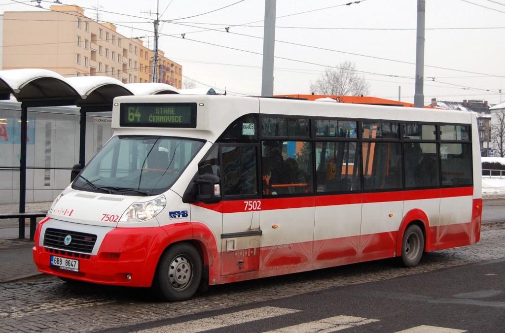 Fotogalerie » MAVE-Fiat CiBus ENA MAXI 7502 | Brno | Židenice | Stará Osada