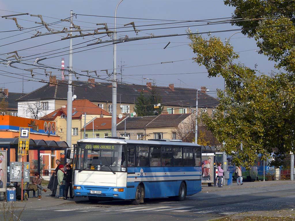 Fotogalerie » Karosa C954.1360 1B0 0308 | Brno | Židenice | Stará Osada