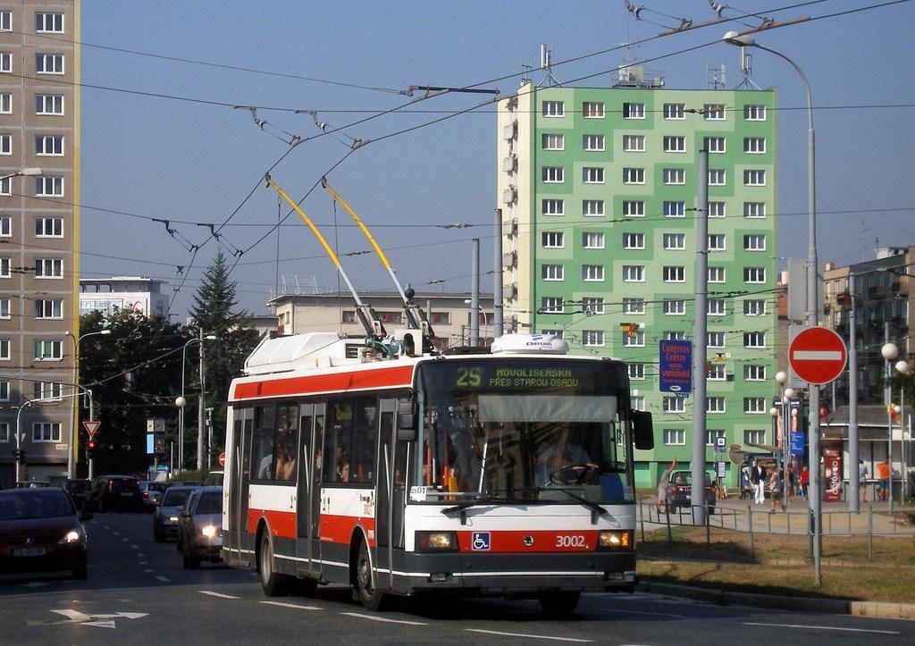 Fotogalerie » Škoda 21Tr 3002 | Brno | Staré Brno | Mendlovo náměstí
