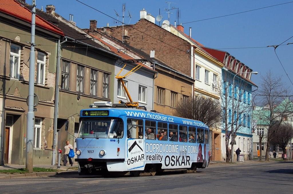 Fotogalerie » Pragoimex T3R.PV 1657 | Brno | Husovice | Nováčkova