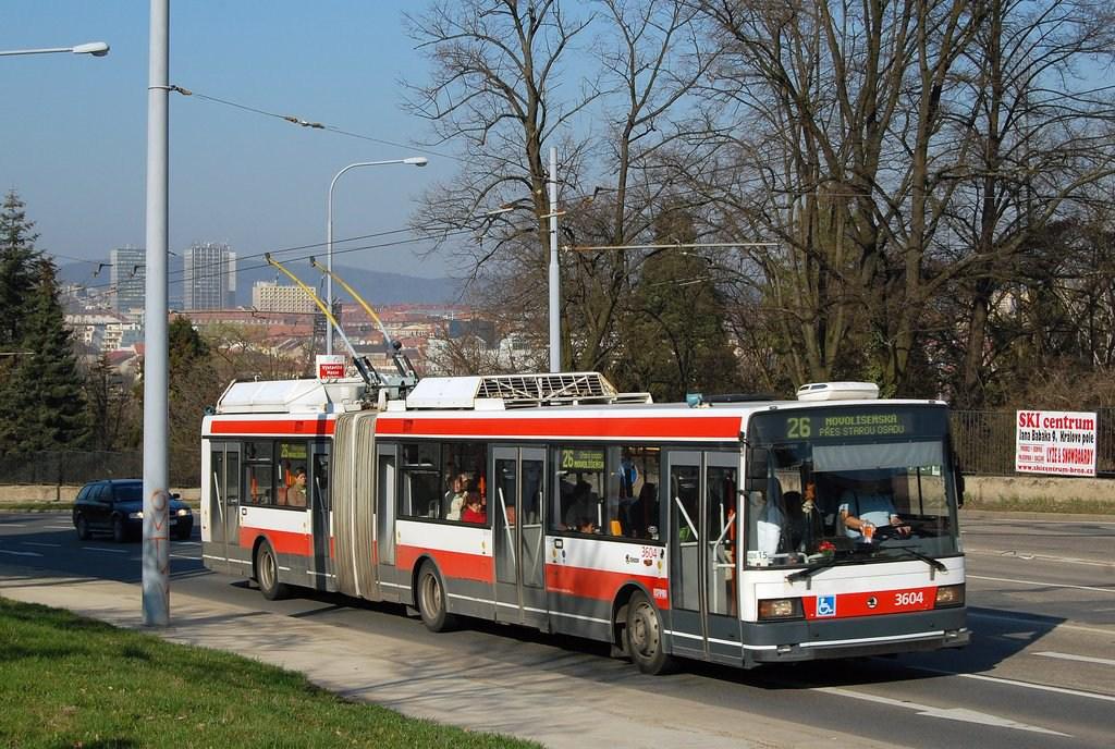 Fotogalerie » Škoda 22Tr 3604 | Brno | Černá Pole | Drobného