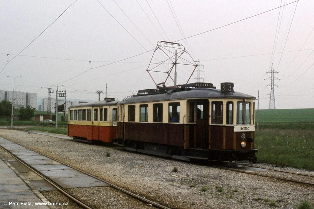 Fotogalerie » KPS Brno mv6.1 81 | vv3.2 296 | Brno | Starý Lískovec | Starý Lískovec, smyčka