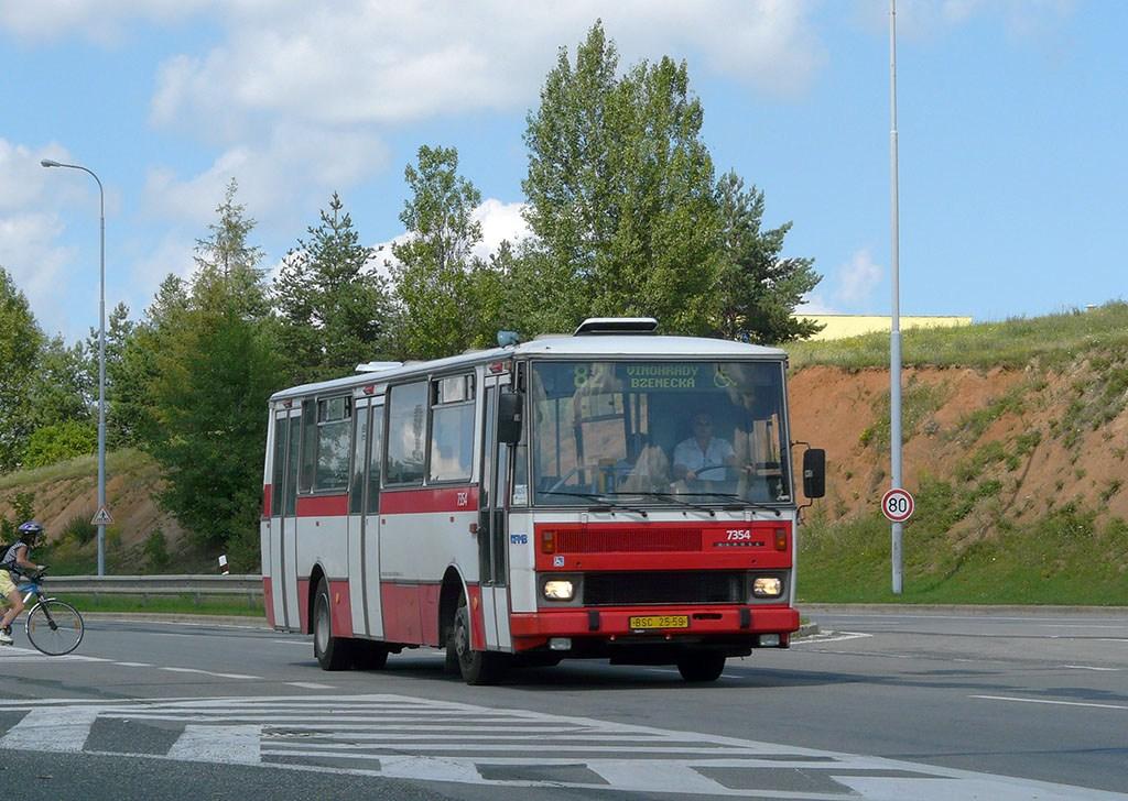 Fotogalerie » Karosa B732 pro invalidy 7354 | Brno | Líšeň | Jedovnická