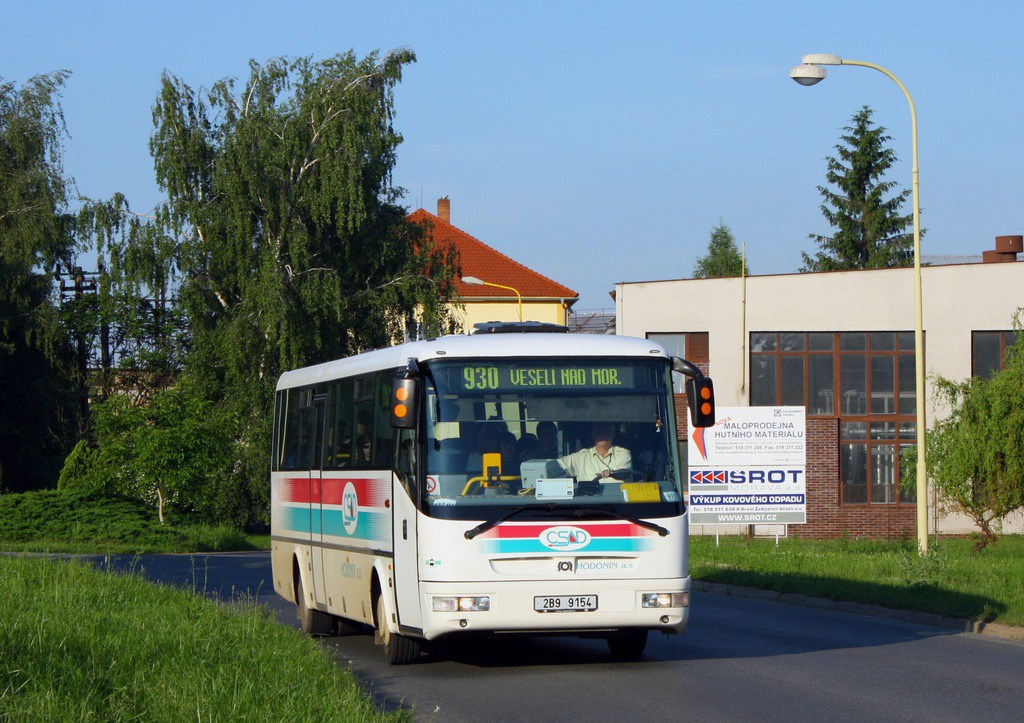 Fotogalerie » SOR SOR C 10.5 2B9 9154   Veselí nad Moravou   Kollárova