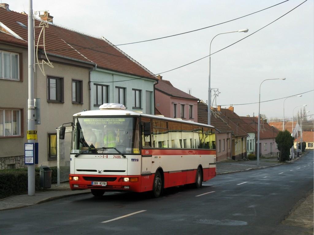 Fotogalerie » Karosa B951E.1713 3B9 8316 7486 | Brno | Holásky | Na návsi | Holásky