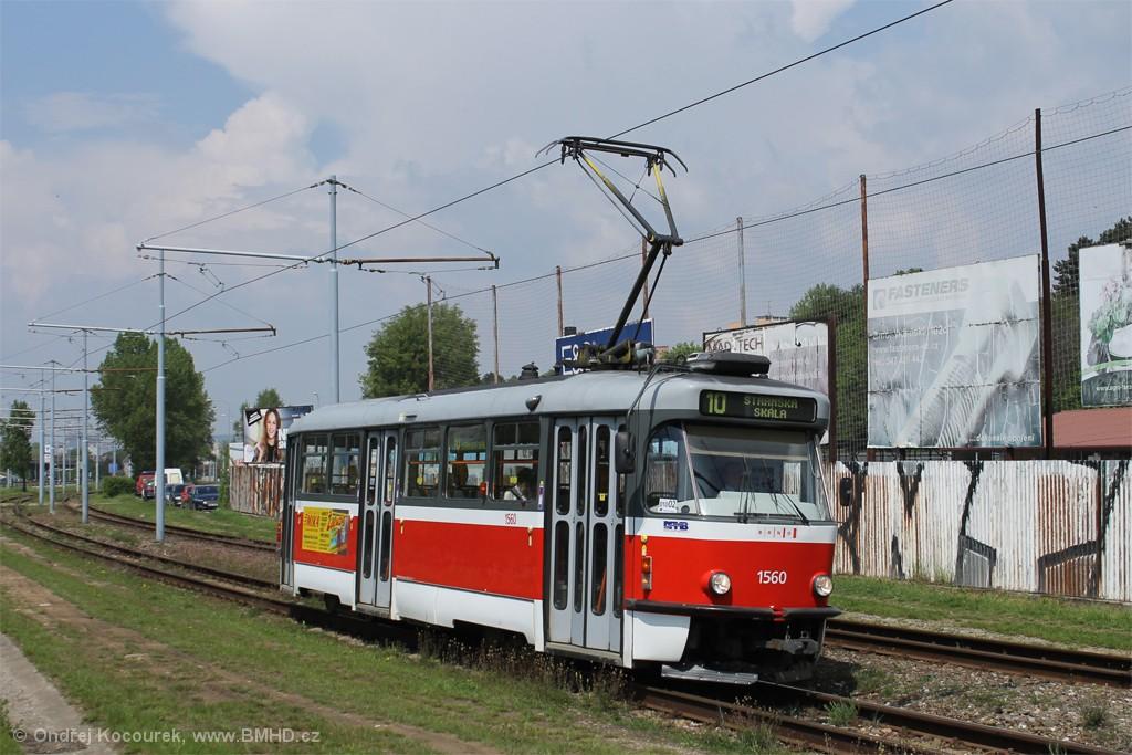 Fotogalerie » Pragoimex T3R.EV 1560 | Brno | Židenice | Ostravská