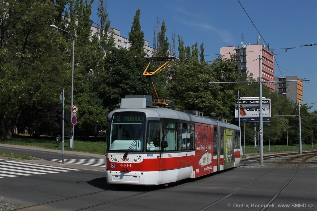 Fotogalerie » Pragoimex VarioLF2R.E 1096   Brno   Štýřice   Vídeňská