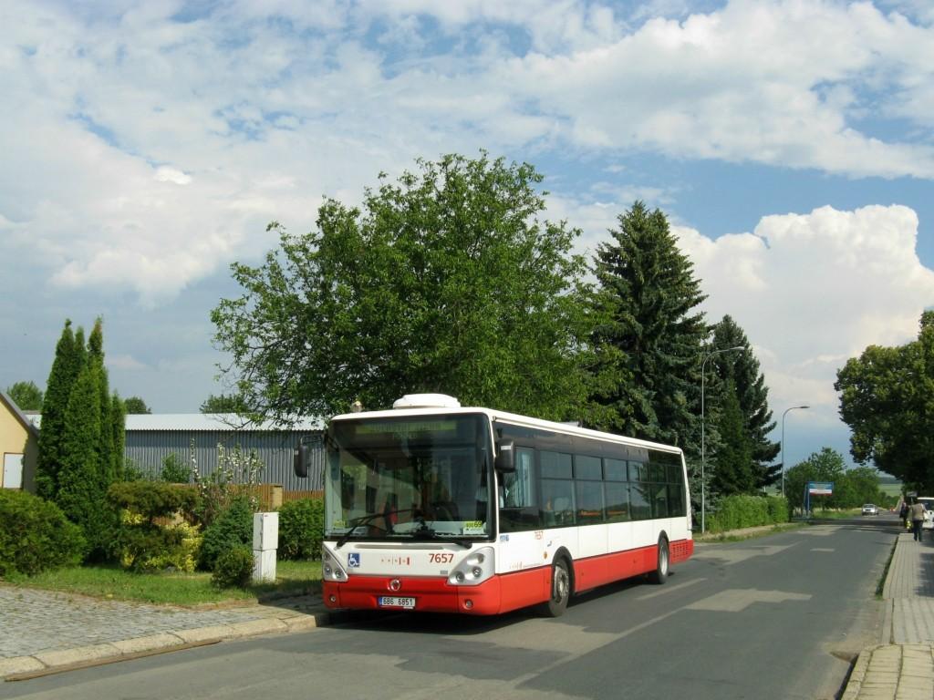 Fotogalerie » Irisbus Citelis 12M 6B6 6851 7657 | Prštice | Ořechovská