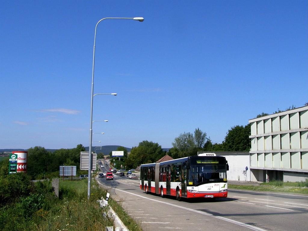Fotogalerie » Solaris Urbino 18 III 9B7 9140 2631   Brno   Starý Lískovec   Jihlavská