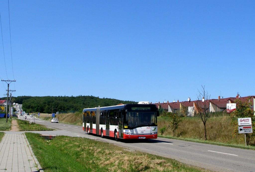 Fotogalerie » Solaris Urbino 18 III 1BA 0407 2645 | Popůvky | Vintrovna