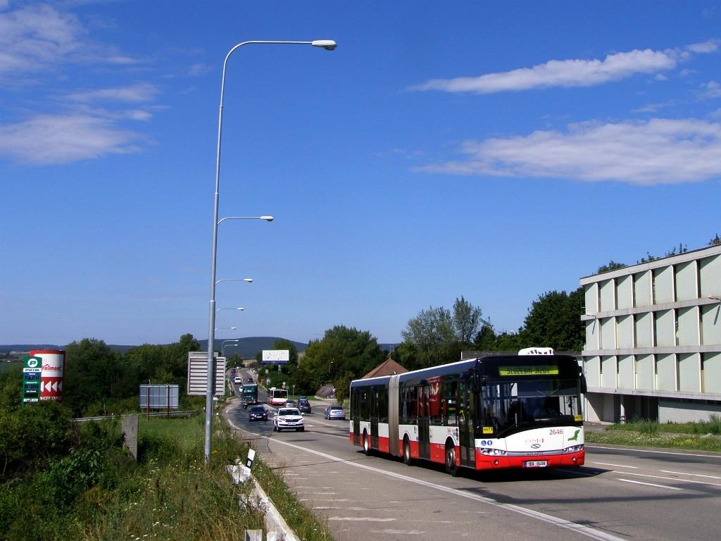 Fotogalerie » Solaris Urbino 18 III 1BA 0408 2646 | Brno | Starý Lískovec | Jihlavská