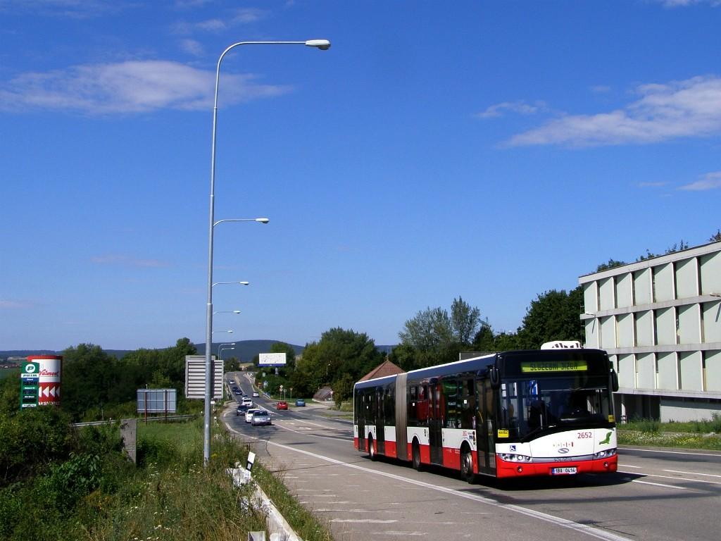 Fotogalerie » Solaris Urbino 18 III 1BA 0414 2652   Brno   Starý Lískovec   Jihlavská