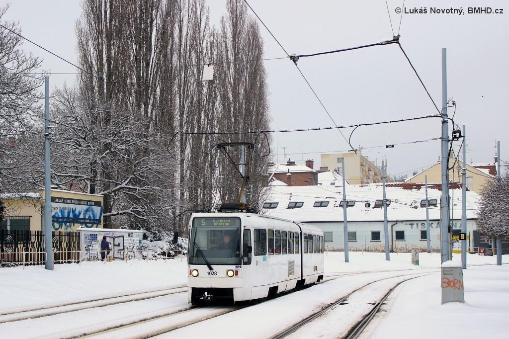 Fotogalerie » ČKD Tatra K2R 1028 | Brno | Štýřice | Vídeňská