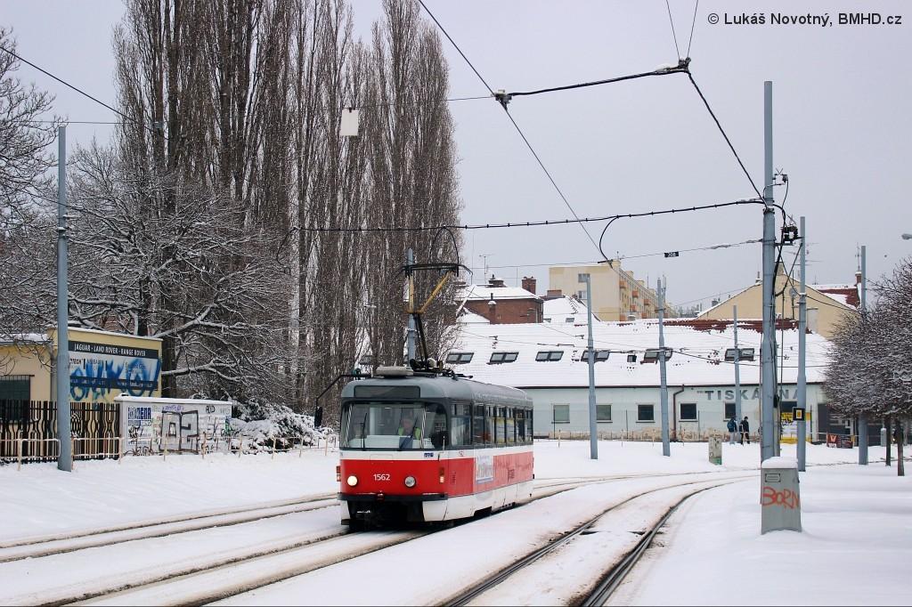Fotogalerie » Pragoimex T3R.EV 1562 | Brno | Štýřice | Vídeňská