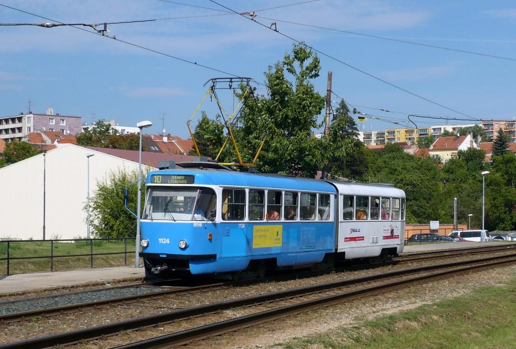 Fotogalerie » ČKD Tatra K2 1124 | Brno | Bohunice