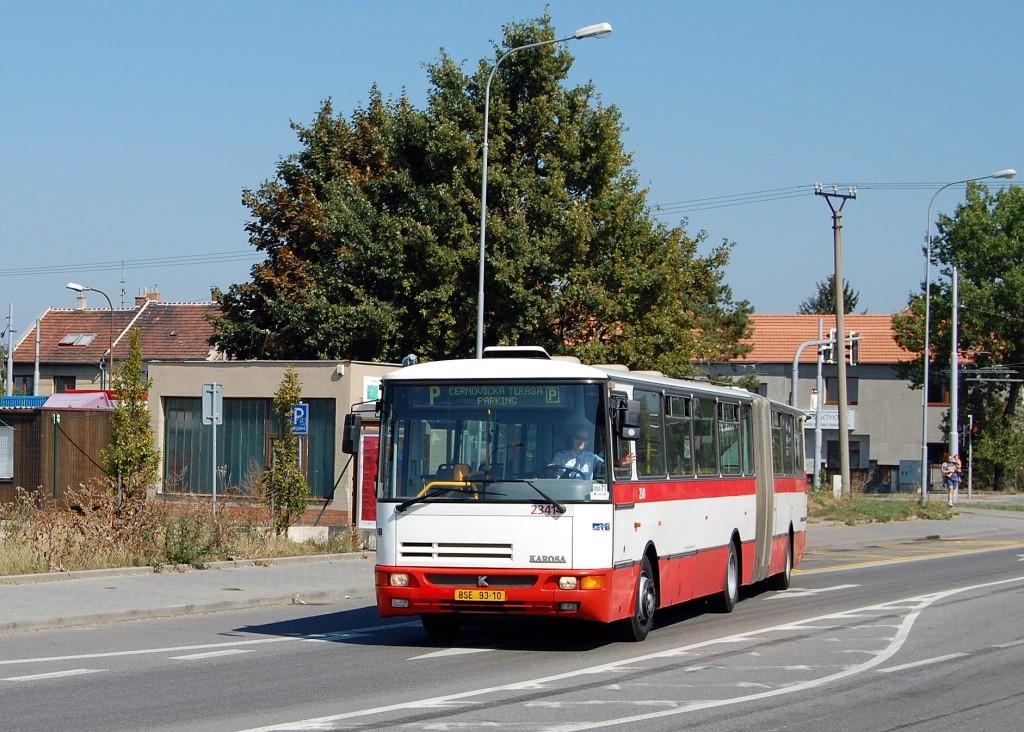 Fotogalerie » Karosa B941E.1962 BSE 93-10 2341 | Brno | Slatina | Tuřanka | Řípská
