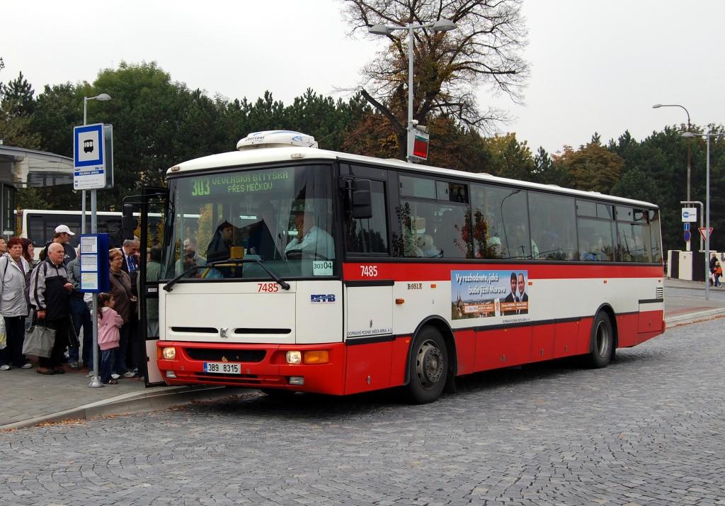 Fotogalerie » Karosa B951E.1713 3B9 8315 7485 | Brno | Bystrc | náměstí 28. dubna | Zoologická zahrada