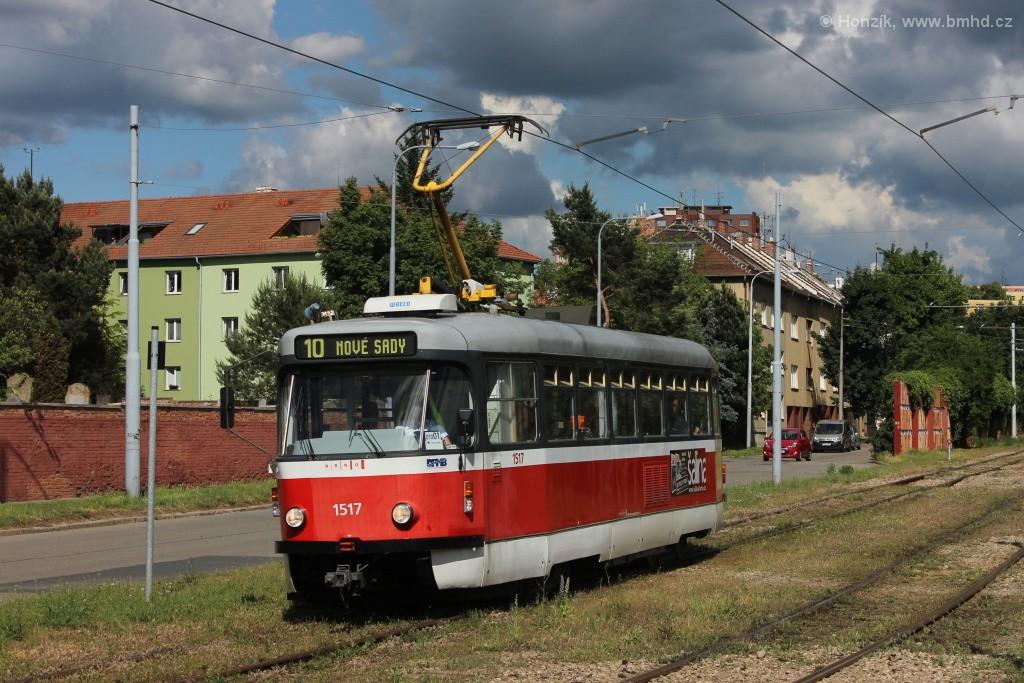 Fotogalerie » Pragoimex T3R.PV 1517   Brno   Židenice   Nezamyslova