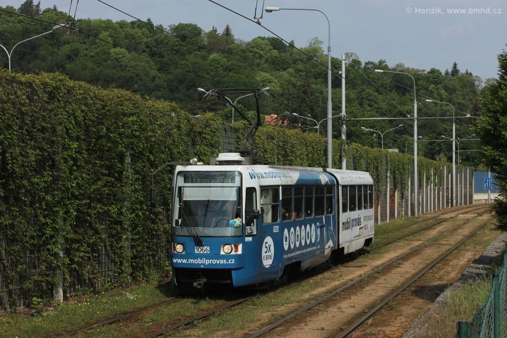 Fotogalerie » ČKD Tatra K2R 1066 | Brno | Pisárky | Žabovřeská