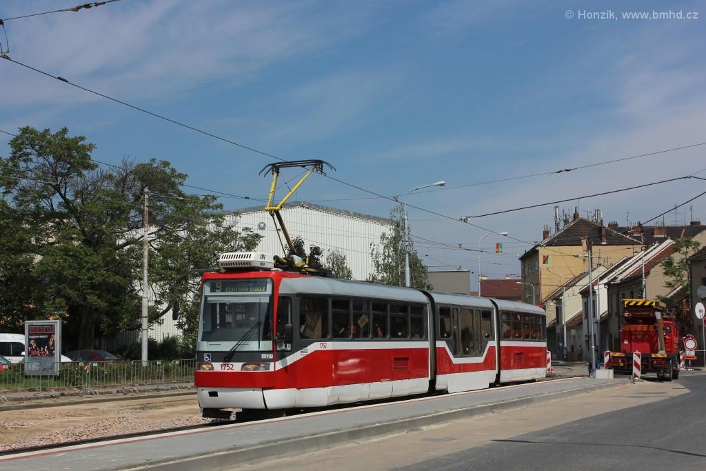 Fotogalerie » Pars Nova K3R-N 1752 | Brno | Černovice | Olomoucká | Životského