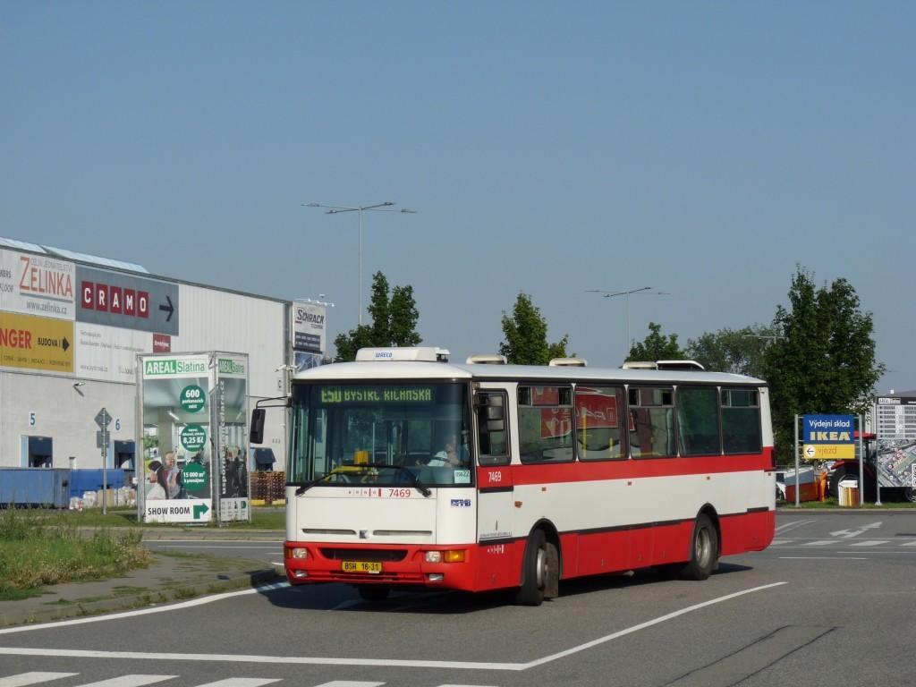 Fotogalerie » Karosa B931E.1707 BSH 16-31 7469 | Brno | Slatina | Tuřanka