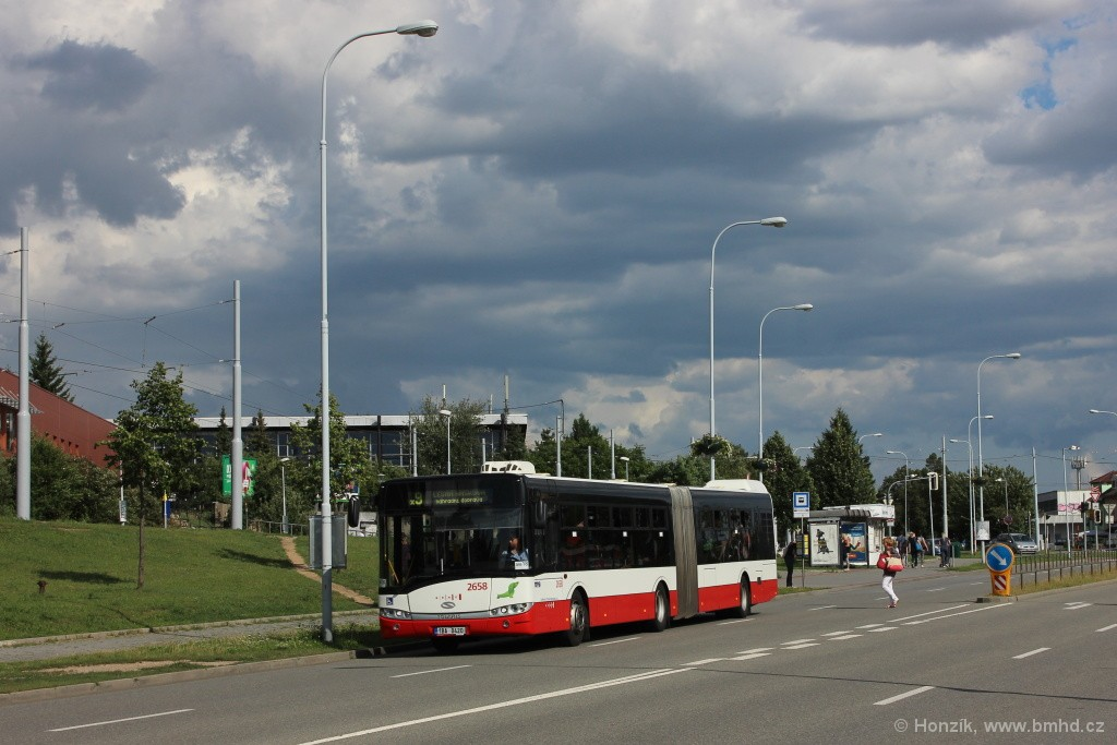 Fotogalerie » Solaris Urbino 18 III 1BA 0420 2658 | Brno | Lesná | Okružní