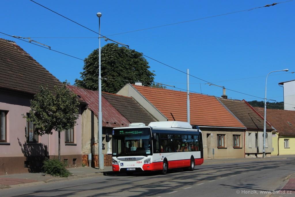 Fotogalerie » Iveco Urbanway 12M CNG 1BC 7533 7084 | Brno | Maloměřice | Selská