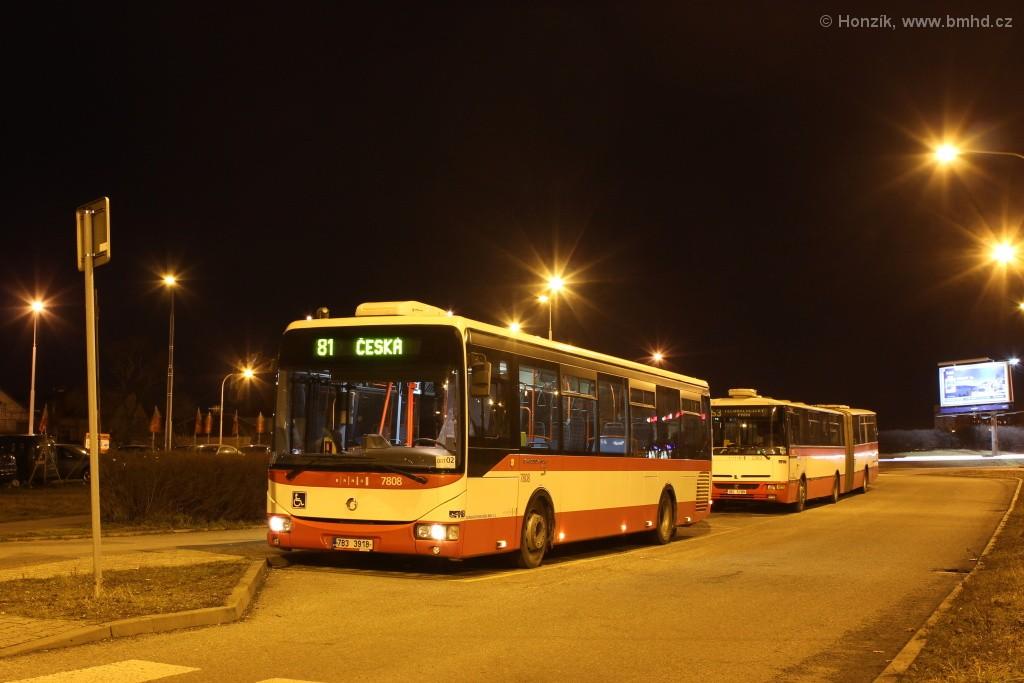 Fotogalerie » Irisbus Crossway LE 12M 7B3 3918 7808 | Brno | Štefánikova čtvrť | Kohoutova | Štefánikova čtvrť, smyčka