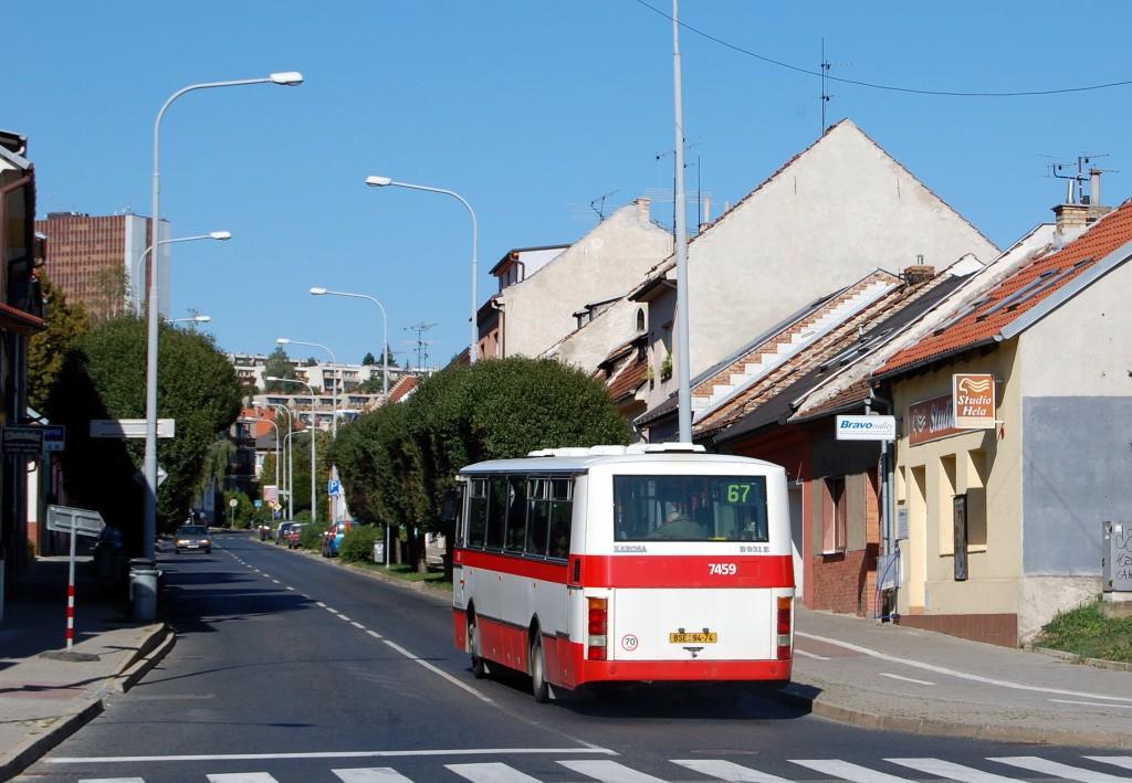 Fotogalerie » Karosa B931E.1707 BSE 94-74 7459 | Brno | Žabovřesky | Královopolská