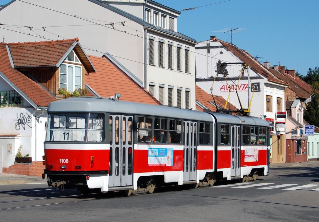 Fotogalerie » ČKD Tatra K2 1108 | Brno | Žabovřesky | Horova