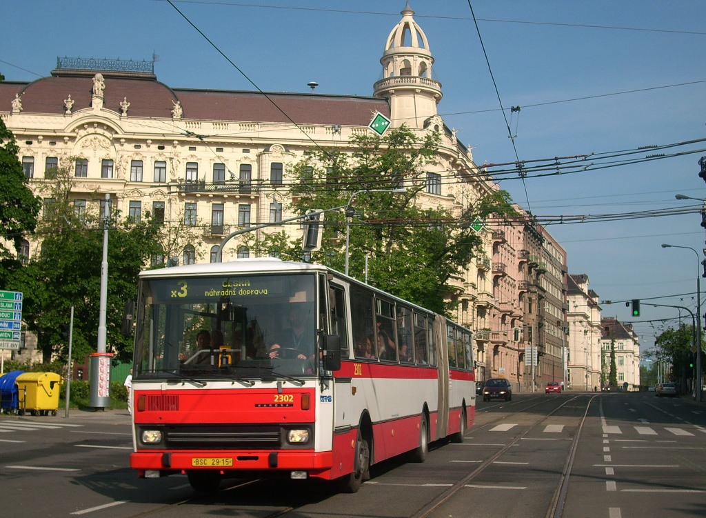 Fotogalerie » Karosa B741.1916 BSC 29-15 2302 | Brno | Veveří | Konečného náměstí