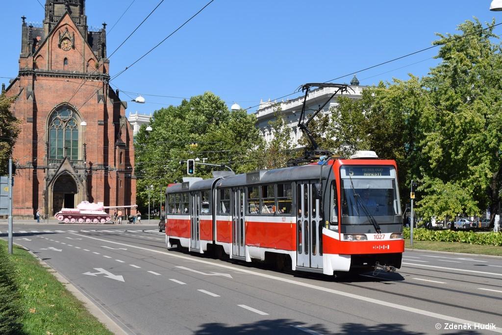 Fotogalerie » ČKD Tatra K2R03 1027 | Brno | střed | Husova