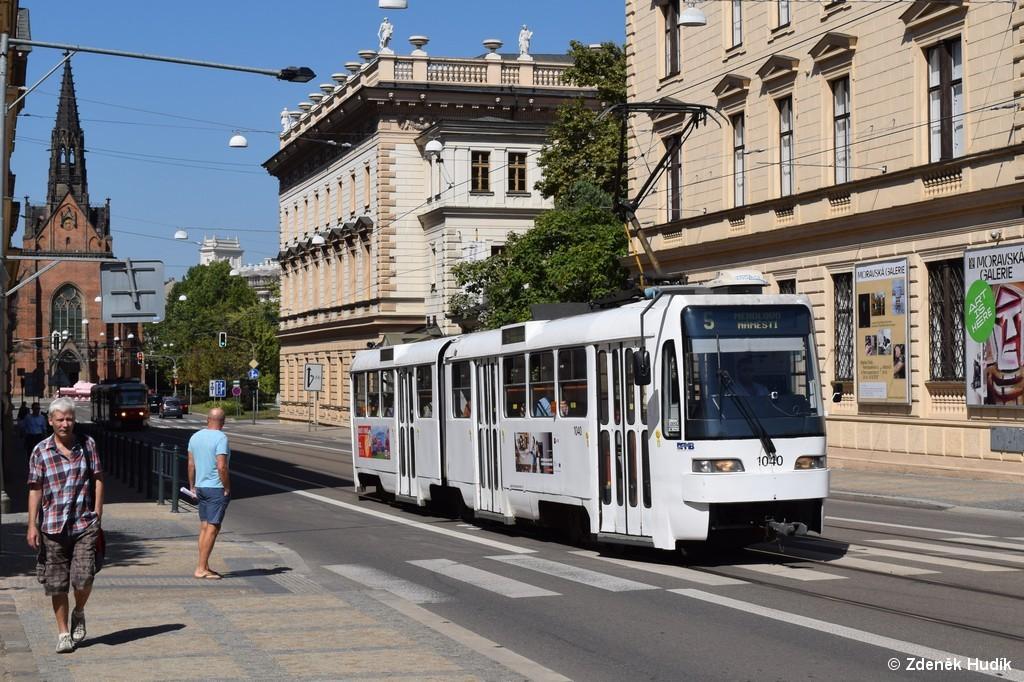 Fotogalerie » ČKD Tatra K2R03-P 1040 | Brno | střed | Husova
