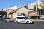 Fiat Dobló Cargo XL 6293 ve službách DPMB jako Seniorbus