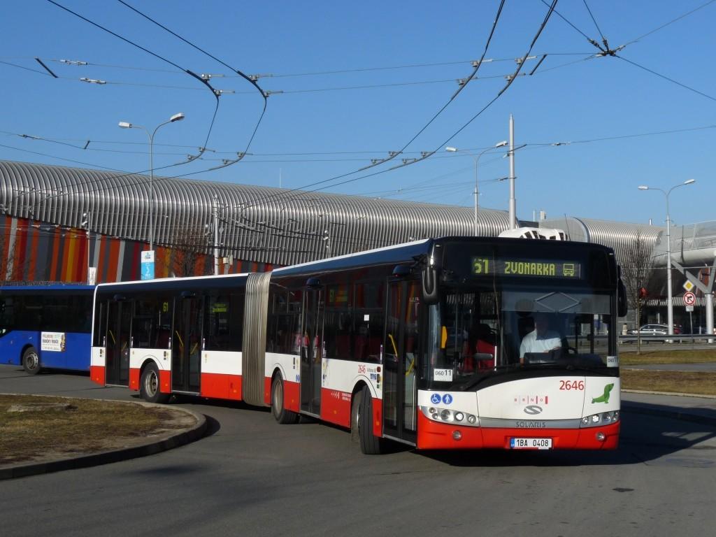 Fotogalerie » Solaris Urbino 18 III 1BA 0408 2646 | Brno | Bohunice | Netroufalky
