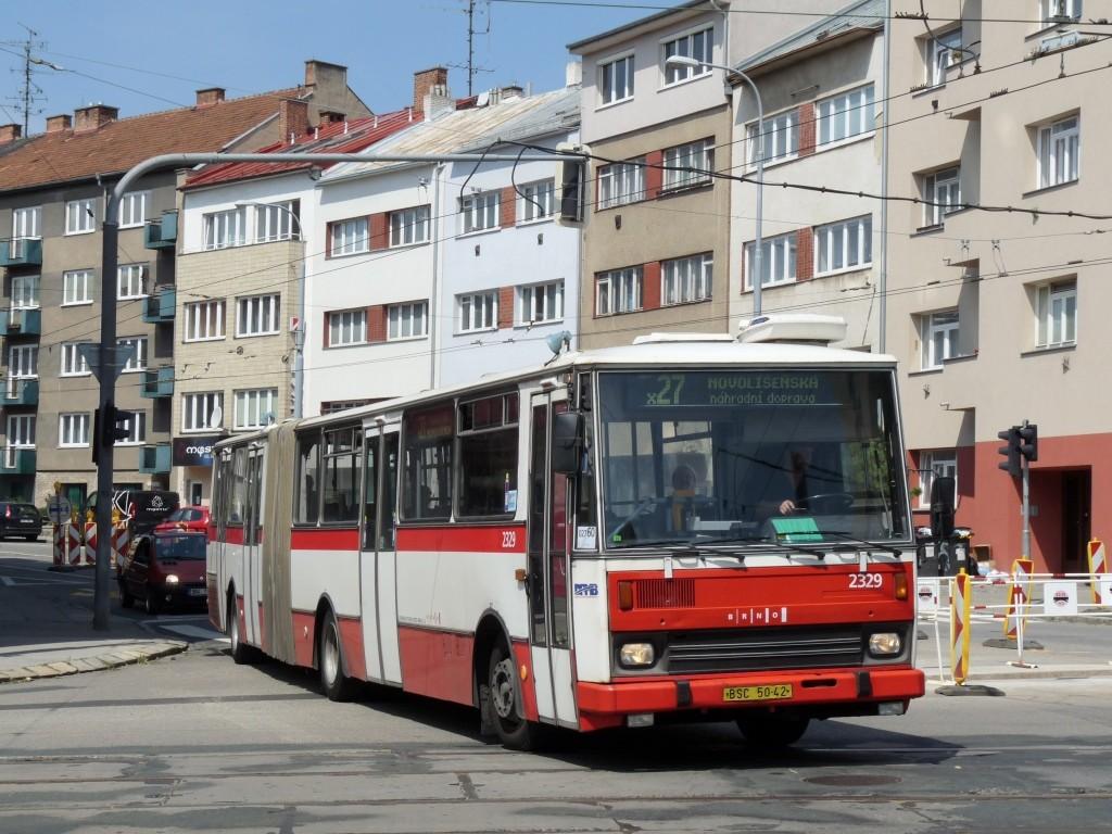 Fotogalerie » Karosa B741.1924 BSC 50-42 2329 | Brno | Černá Pole | Provazníkova x Merhautova
