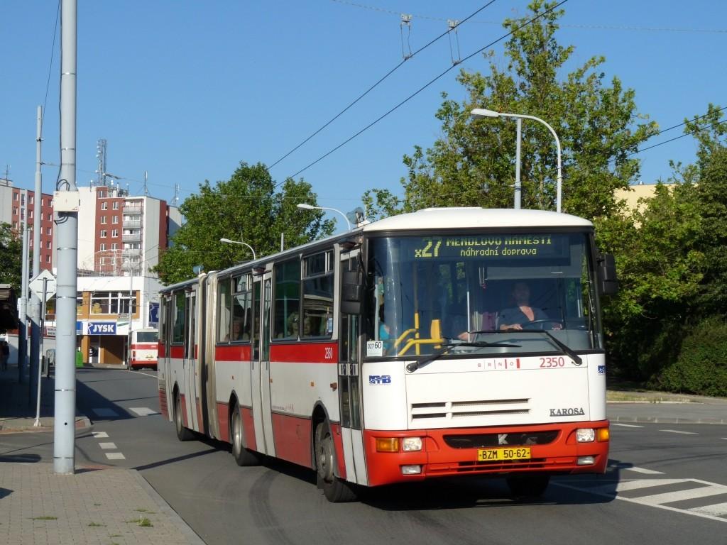 Fotogalerie » Karosa B941E.1962 BSE 91-85 2350 | Brno | Vinohrady | Bzenecká