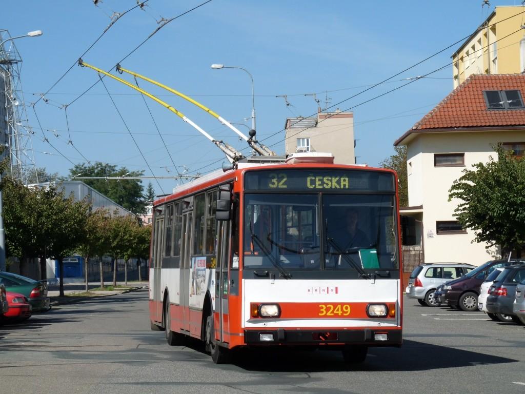 Fotogalerie » Škoda 14TrR 3249 | Brno | Královo Pole | Srbská