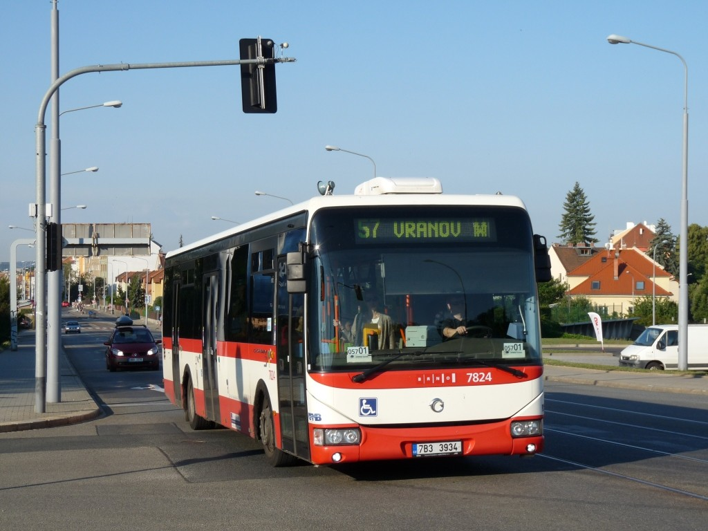 Fotogalerie » Irisbus Crossway LE 12M 7B3 3934 7824 | Brno | Štefánikova Čtvrť | Merhautova