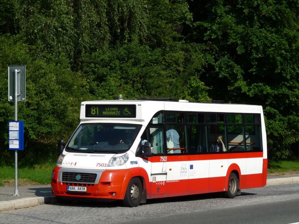 Fotogalerie » MAVE-Fiat CiBus ENA MAXI 6B6 6828 7503   Brno   Lesná   Okružní   Slavíčkova