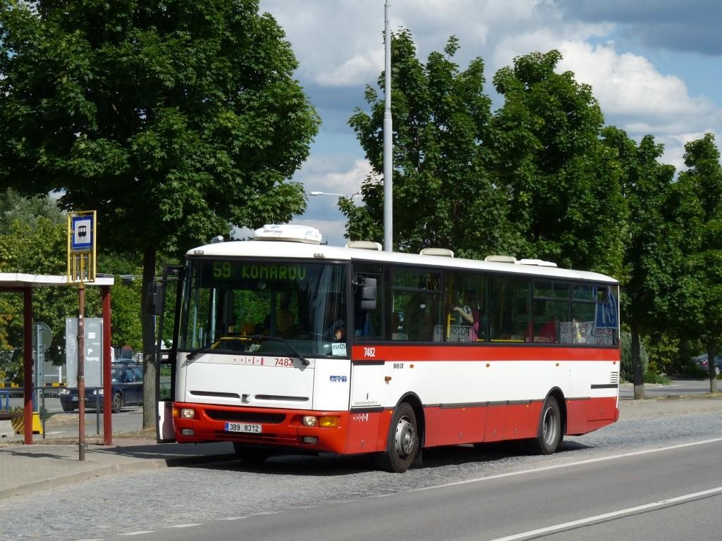 Fotogalerie » Karosa B951E.1713 3B9 8312 7482 | Brno | Brněnské Ivanovice | Kaštanová | Ráječek