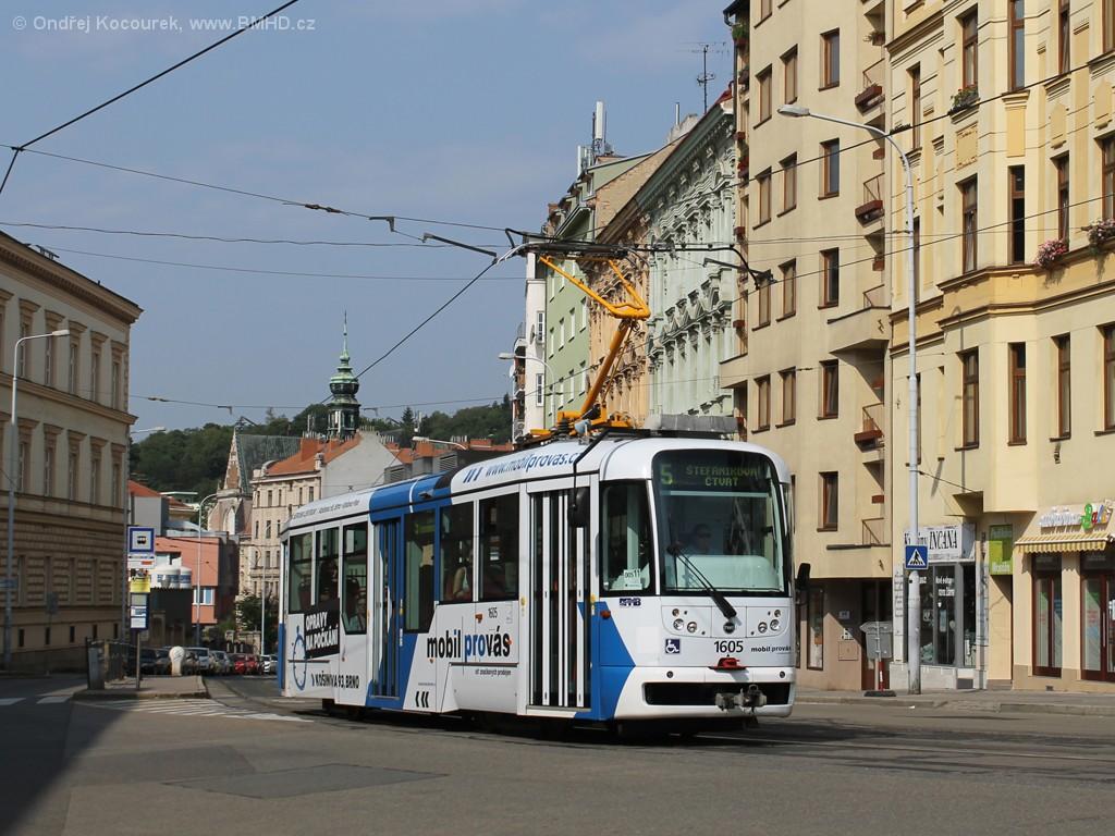 Fotogalerie » Pragoimex VarioLFR.E 1605 | Brno | Staré Brno | Pekařská