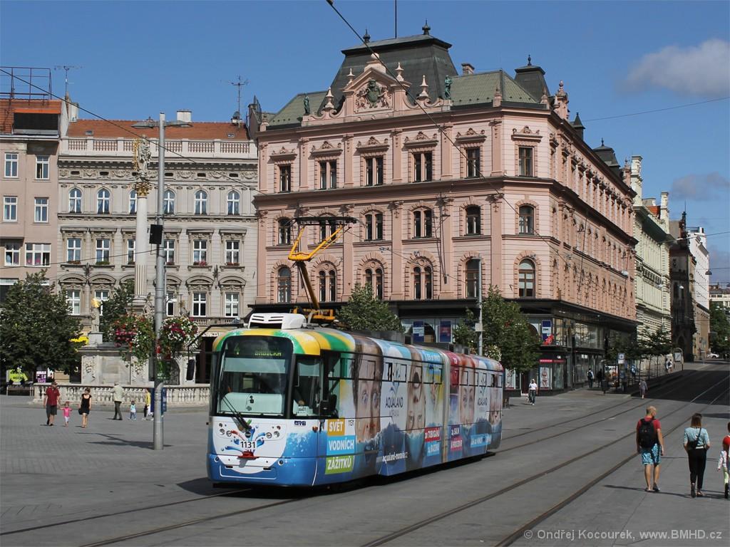 Fotogalerie » Pragoimex VarioLF2R.E 1131 | Brno | střed | náměstí Svobody