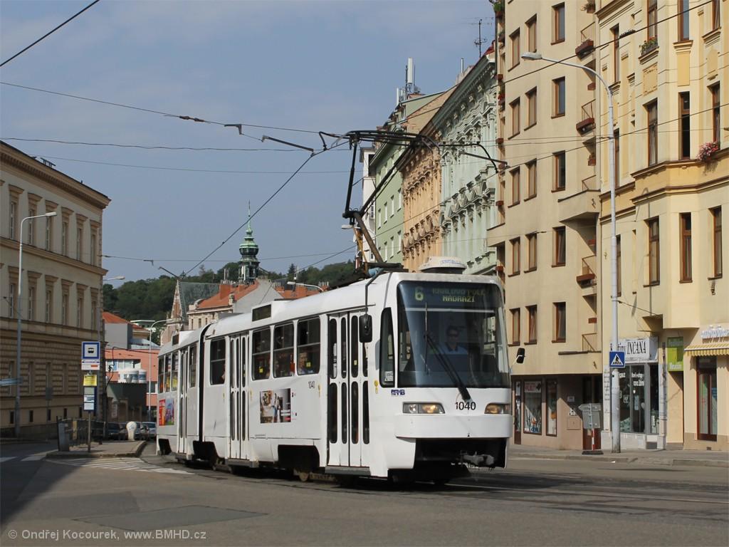 Fotogalerie » ČKD Tatra K2R03-P 1040 | Brno | Staré Brno | Pekařská