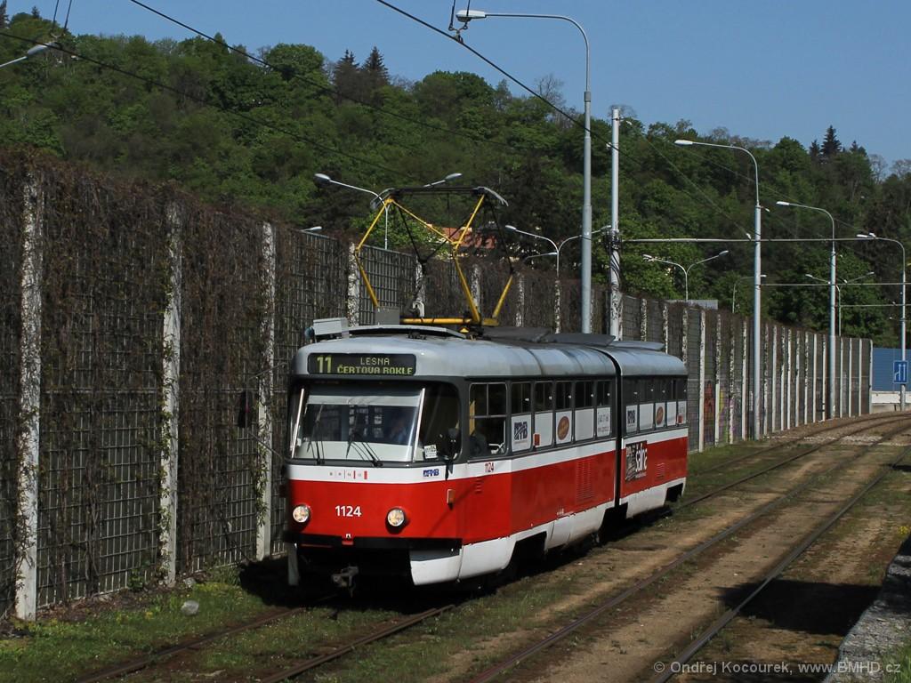Fotogalerie » ČKD Tatra K2 1124 | Brno | Pisárky