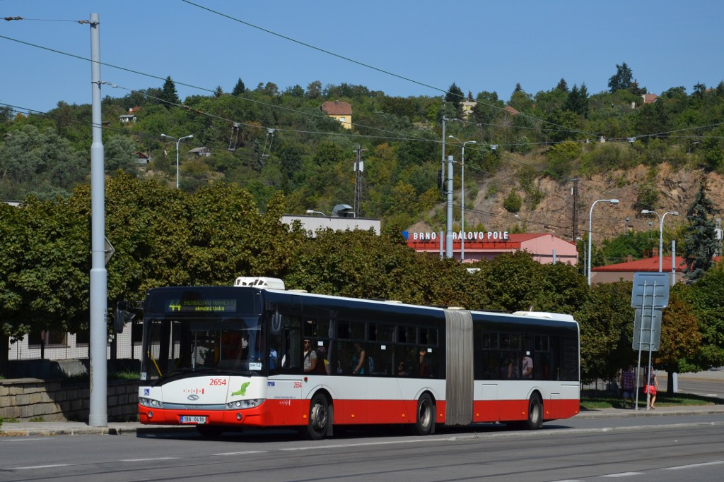 Fotogalerie » Solaris Urbino 18 III 1BA 0416 2654 | Brno | Královo Pole | Kosmova