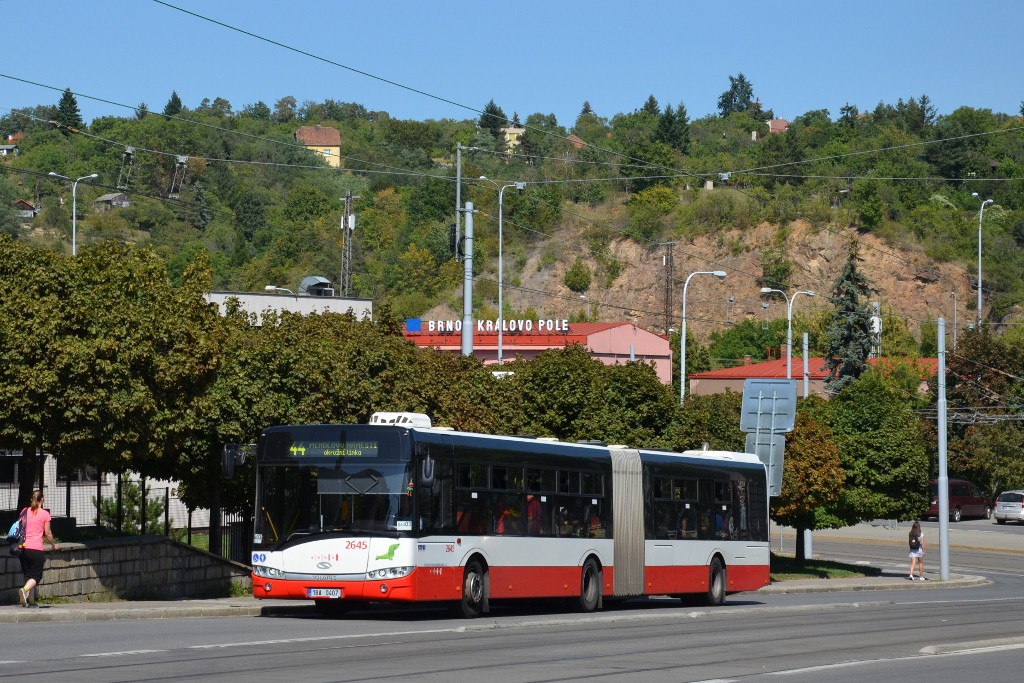 Fotogalerie » Solaris Urbino 18 III 1BA 0407 2645 | Brno | Královo Pole | Kosmova
