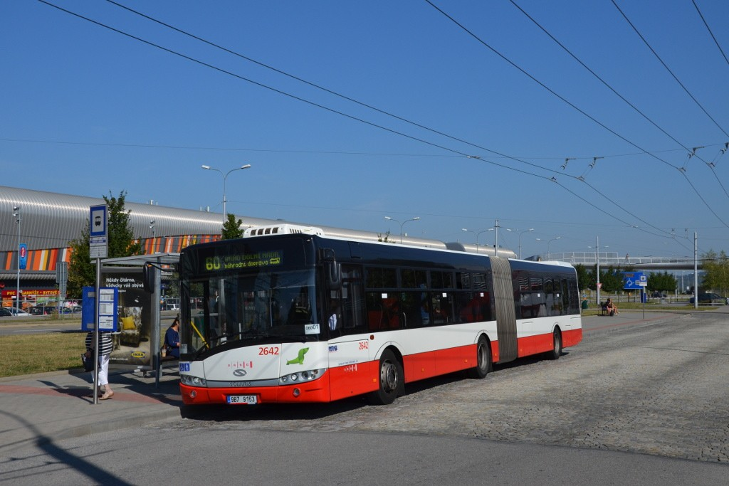 Fotogalerie » Solaris Urbino 18 III 9B7 9153 2642 | Brno | Bohunice | Netroufalky | Nemocnice Bohunice