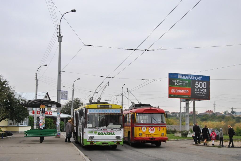 Fotogalerie » Škoda 14Tr05 146 | Škoda 9TrH29 123 | Rovno | Dubenska | Boyarka